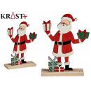 santa claus wood c gift boxes