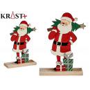 jultomten trä c gåvor och träd