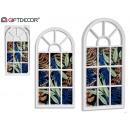 meerdere witte raam fotolijst
