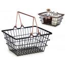 wholesale Organisers & Storage: black copper handle basket pqe
