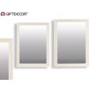 Kanada Spiegel 50x70cm weiß