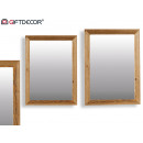 nagyker Tükrök: kanadai tükör 50x70cm barna