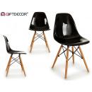 nagyker Bútorok: átlátszó fekete szék kirk