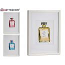 grossiste Parfums: peinture décorative parfum ch nº5 assorti 3 c