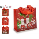 red christmas gift bag 4 times assorted size