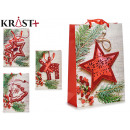 stars and branches gift bag, 4 times assorted ta