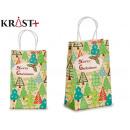 small pine green gift bag