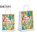 large green pines gift bag