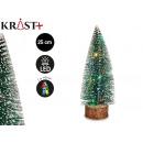 christmas tree stand wood light color 2