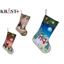 colored decorative socks, 3 times assorted