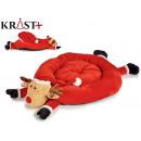 reindeer pet bed