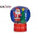 magic ball inflatable santa claus 60 cm