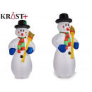 snowman inflatable broom 2.4