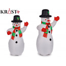 1.2m red hand inflatable snowman