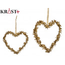 decorative pendant heart shape 15cm