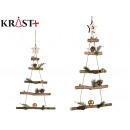 Christmas tree wood ornament 48 x 34 cm d