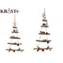 Christmas tree wood ornament 48 x 34 cm r