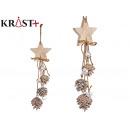 Christmas star garland 44cm
