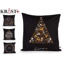 sheath Pillow christmas black color asso4
