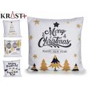 sheath Pillow christmas white black and Dora