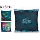 sheath Pillow christmas dark colors assorted