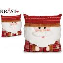 Großhandel Spielzeug: Weihnachtskissen Weihnachtsmann 40cm