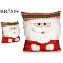 Großhandel Spielzeug: Kissen Weihnachtsmann 40cm