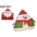 Großhandel Spielzeug: Kissen Weihnachten sortiert 2 40cm