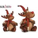 wholesale Headgear: reindeer striped hat 30cm