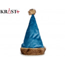 wholesale Figures & Sculptures:blue christmas santa hat