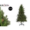 light green christmas tree 210 cm