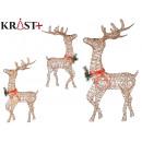 wholesale Other: reindeer 137cm golden light yellow