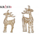 reindeer gold decorative christmas 70cm