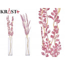 wholesale Other: pale pink curly corsage, 2 times assorted