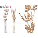 wholesale Other: curly corsage bronze white stick assorted