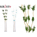 wholesale Other: long white stick green corsage, 2 times assorted