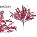 glitter bouquet mini burgundy leaf 35cm