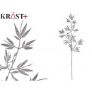 wholesale Beverages: branch with shiny leaves 84 cm silver