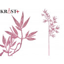 wholesale Food & Beverage: branch with shiny leaves 84 cm pink