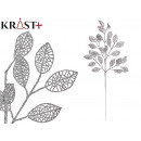 mayorista Alimentos y bebidas: rama con hojas redondas oro 70 cm