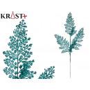 mayorista Alimentos y bebidas: rama 6 hojas purpurina 75cm azul