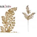 mayorista Alimentos y bebidas: rama 6 hojas purpurina 75cm oro