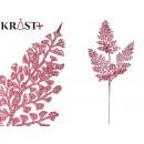 mayorista Alimentos y bebidas: rama 6 hojas purpurina 75cm rosa