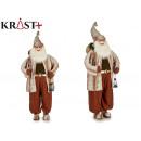wholesale Costumes: figure santa claus brown suit 180 cm
