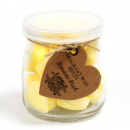 groothandel Huisgeuren/parfums: Soywax smelt Jar - Bannana Rush