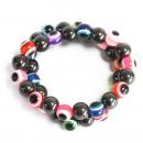 wholesale Jewelry & Watches: Magnetic Bracelets - Evil Eye Range - asst 6 Desig