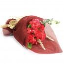 groothandel Woondecoratie: Bloemboeket Staande Zeep - Rood - Speciaal