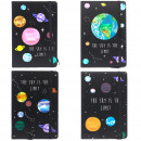 wholesale Notebooks & Tablets: Cool A5 Notebook - Lined Paper - Sky is the Limit