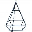 mayorista Jardin y Bricolage: Terrario de vidrio - Gran pirámide