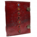 wholesale Travel and Sports Bags: Huge 7 Chakra Leather Book - 25x32.5 cm (200 ...